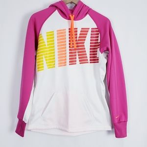 Nike Therma-FIt Spell Out NIKE pink women's hoodie